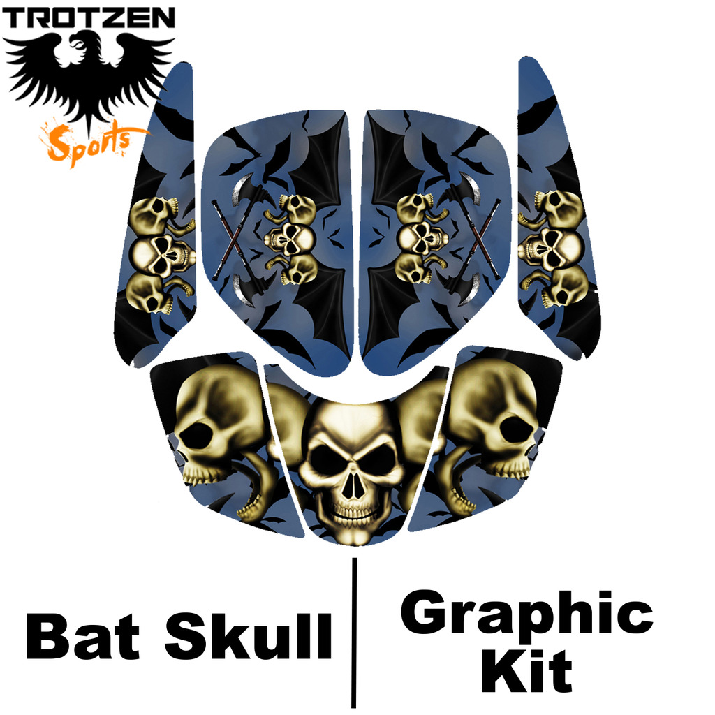 Polaris Trailblaser Batskull Graphic Kits