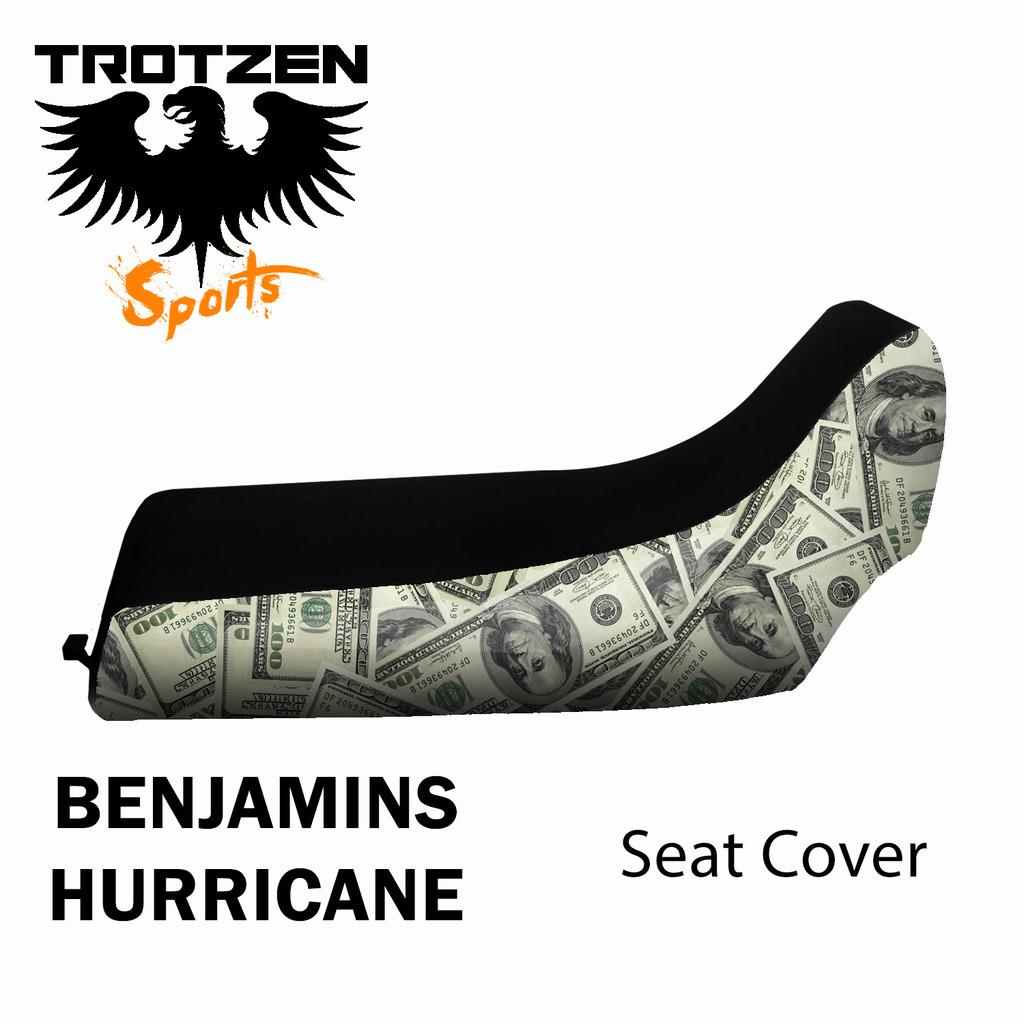 Polaris Scrambler 400 04 & Newer Benjamin Hurricane Seat Cover