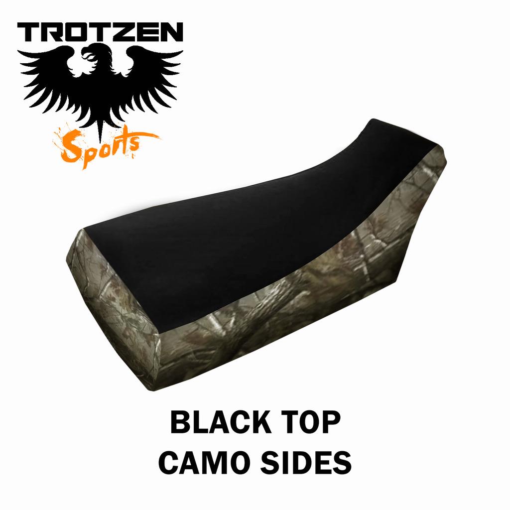 Polaris Outlaw Black Top Camo Sides Seat Cover