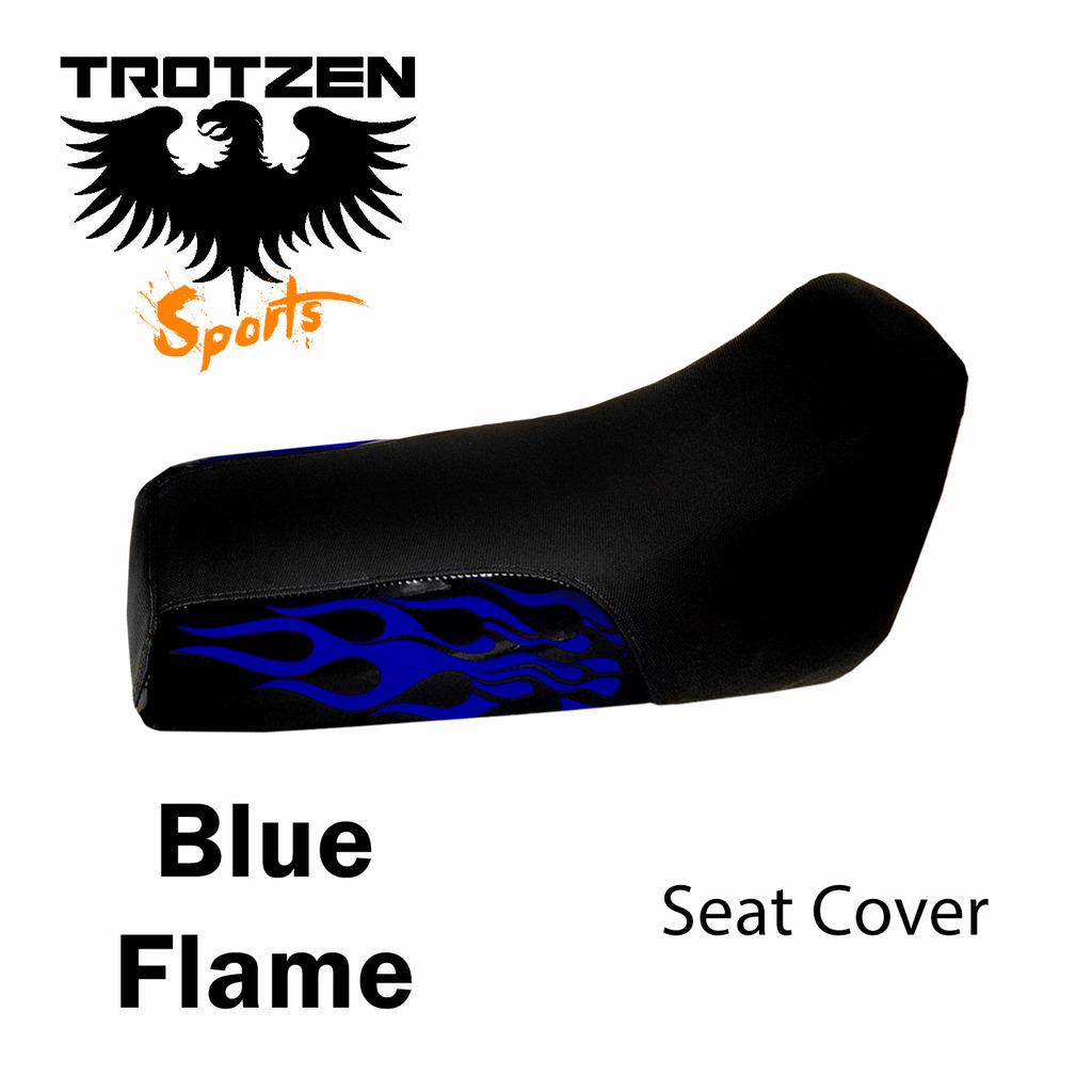 Polaris Predator 90 Blue Flame Seat Cover