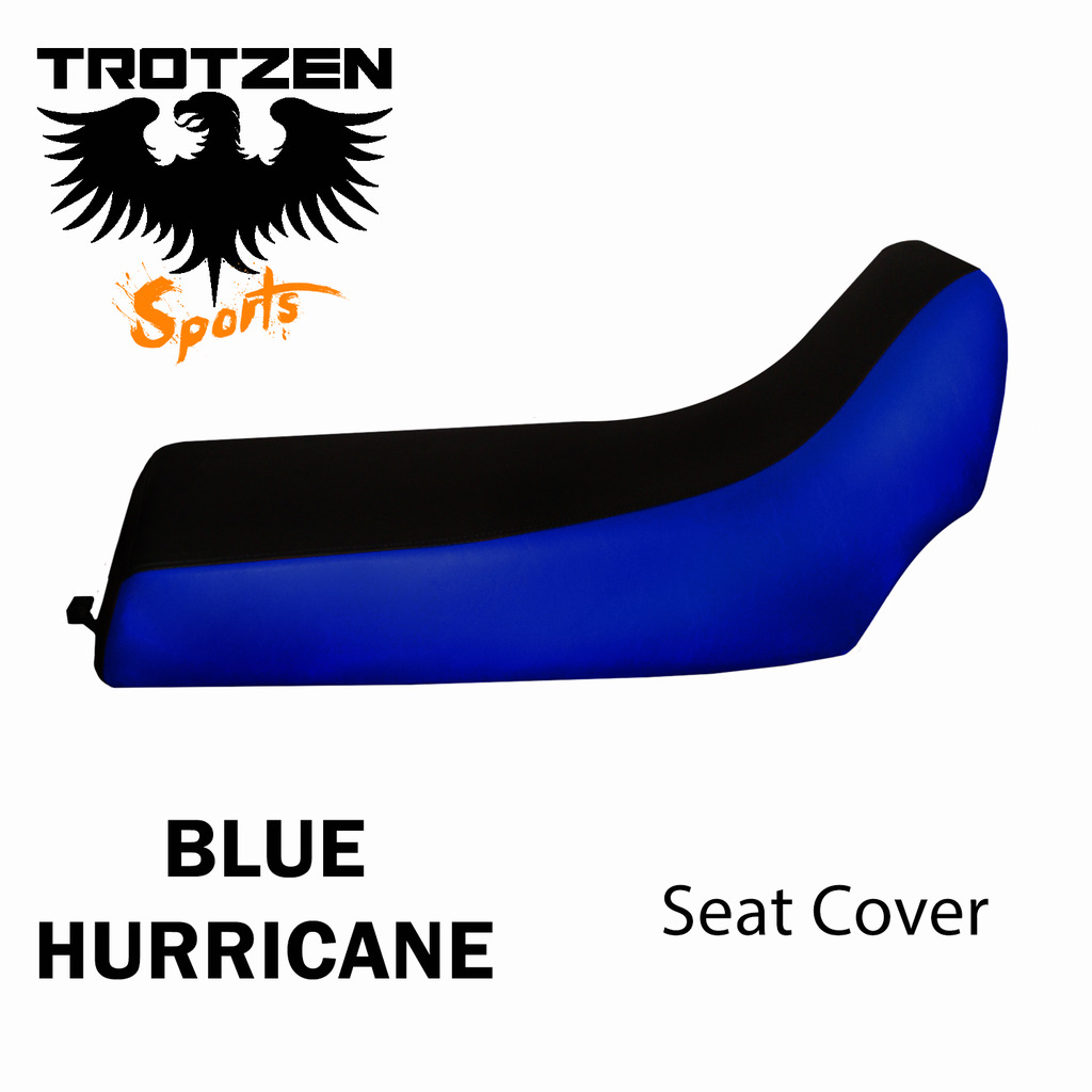 Polaris Predator 90 Blue Hurricane Seat Cover