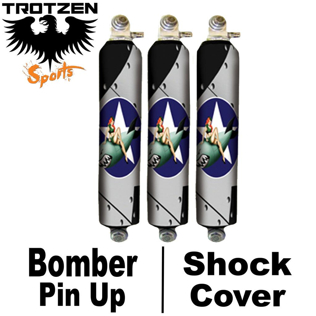 Yamaha Banshee Bomber Pin Up Shock Covers