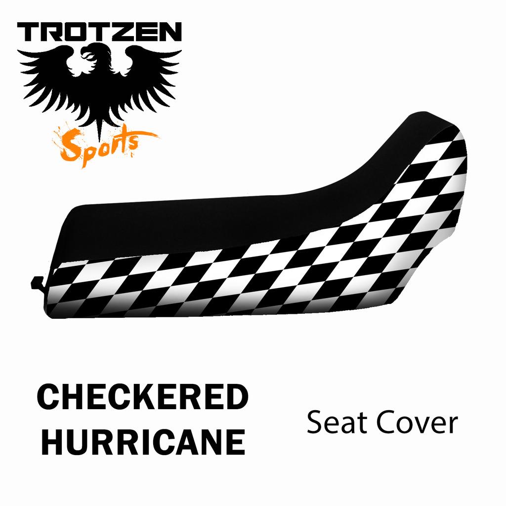 Arctic Cat DVX 400 Checkered Hurricane Seat Cover