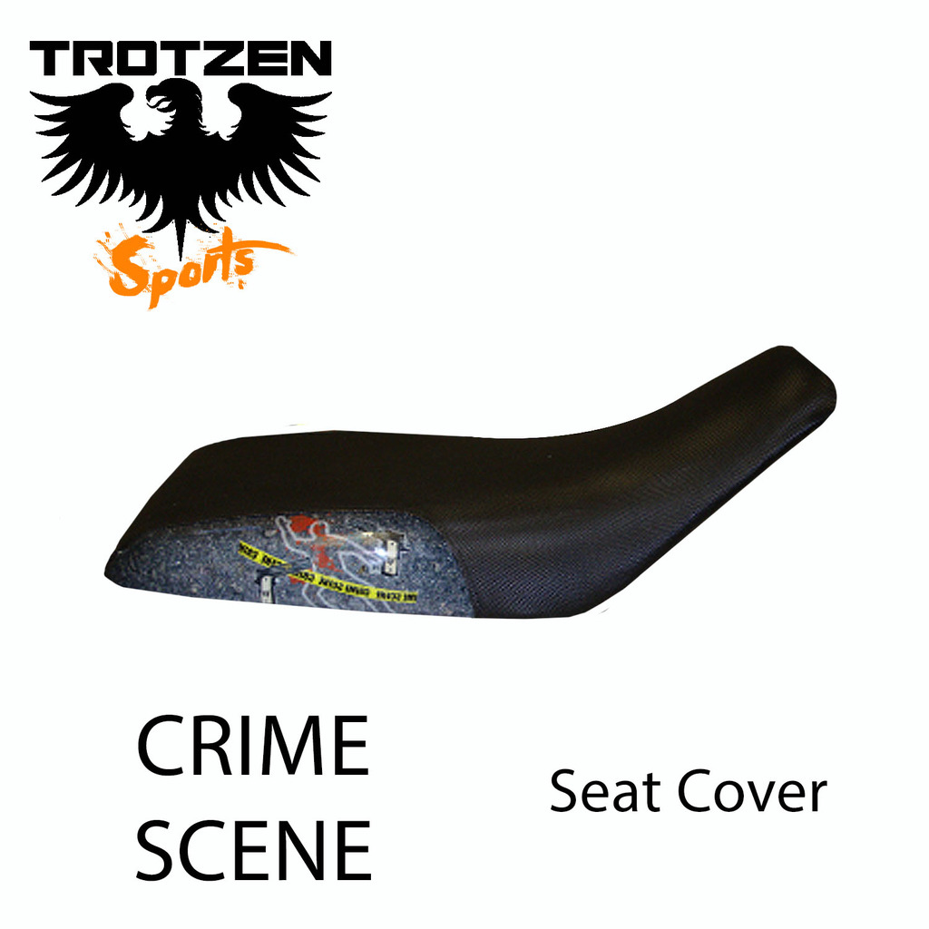 Polaris Predator 90 Crime Scene Seat Cover