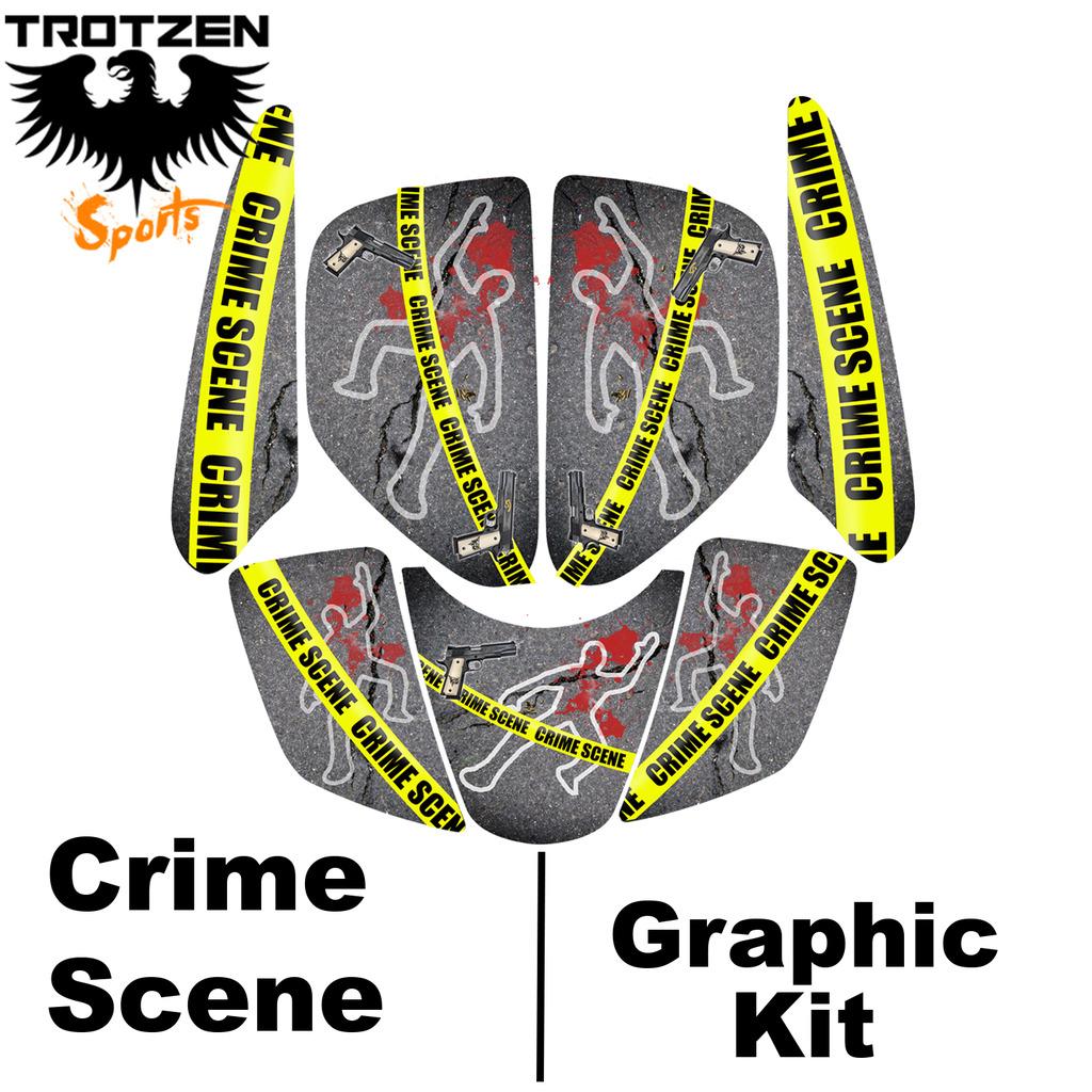 Polaris Predator 90 Crime Scene Graphic Kits