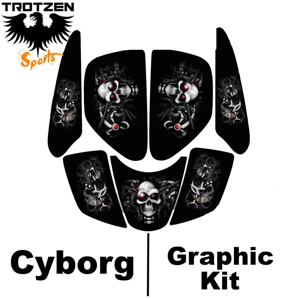 Polaris Predator 90 Cyborg Graphic Kits