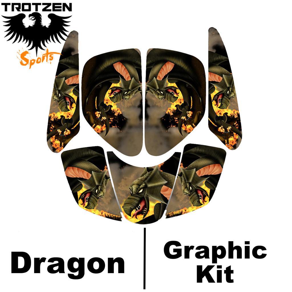 Polaris Predator 90 Dragon Graphic Kits