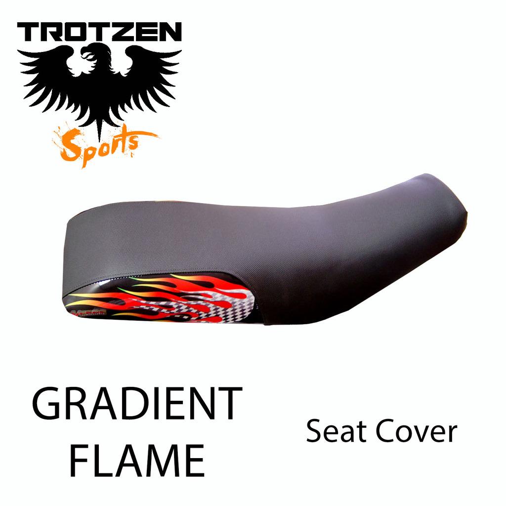 Polaris Predator 90 Gradient Flame Seat Cover