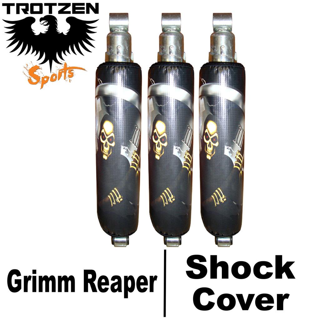 Yamaha Banshee Grimm Reaper Shock Covers