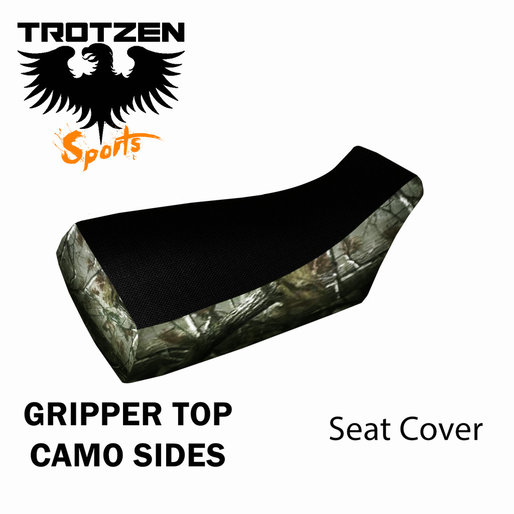 Polaris Predator 90 Gripper Top Camo Sides Seat Cover