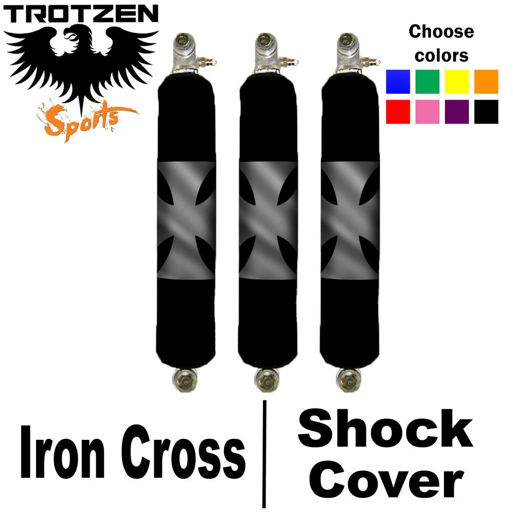 Yamaha Blaster Iron Cross Shock Covers