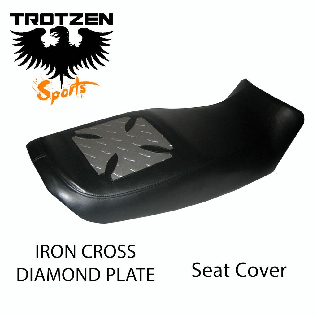 Suzuki TC120 70-71 TC 120 Iron Cross Seat Cover