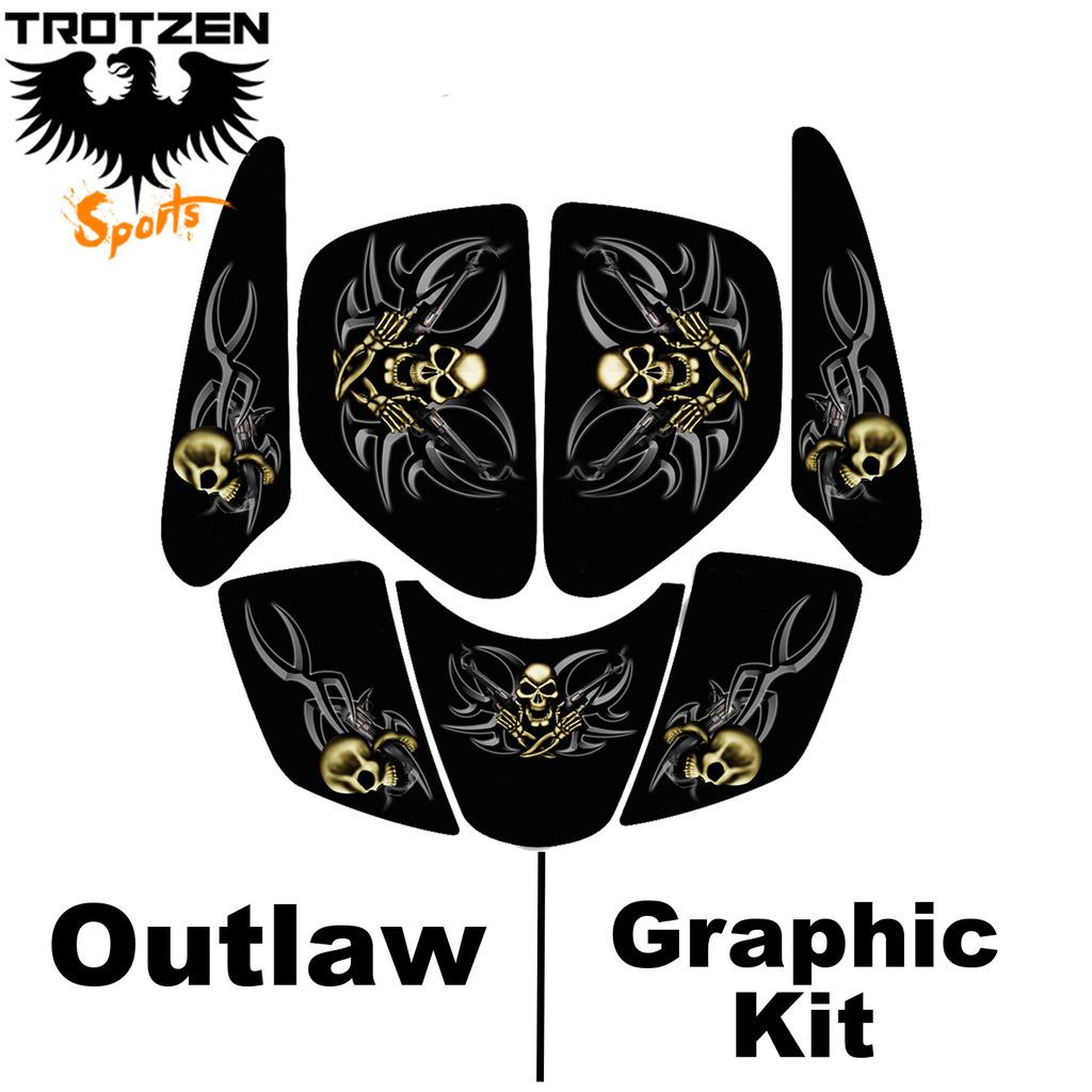 Kasea 50 - 90 - 110 Quad Outlaw Graphic Kits