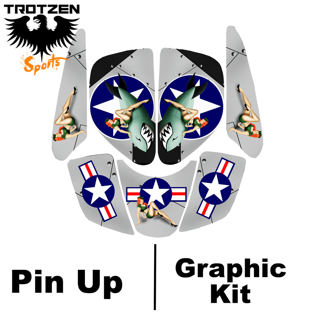 Eton Viper 70 - 90 Quad Pic Up Graphic Kits