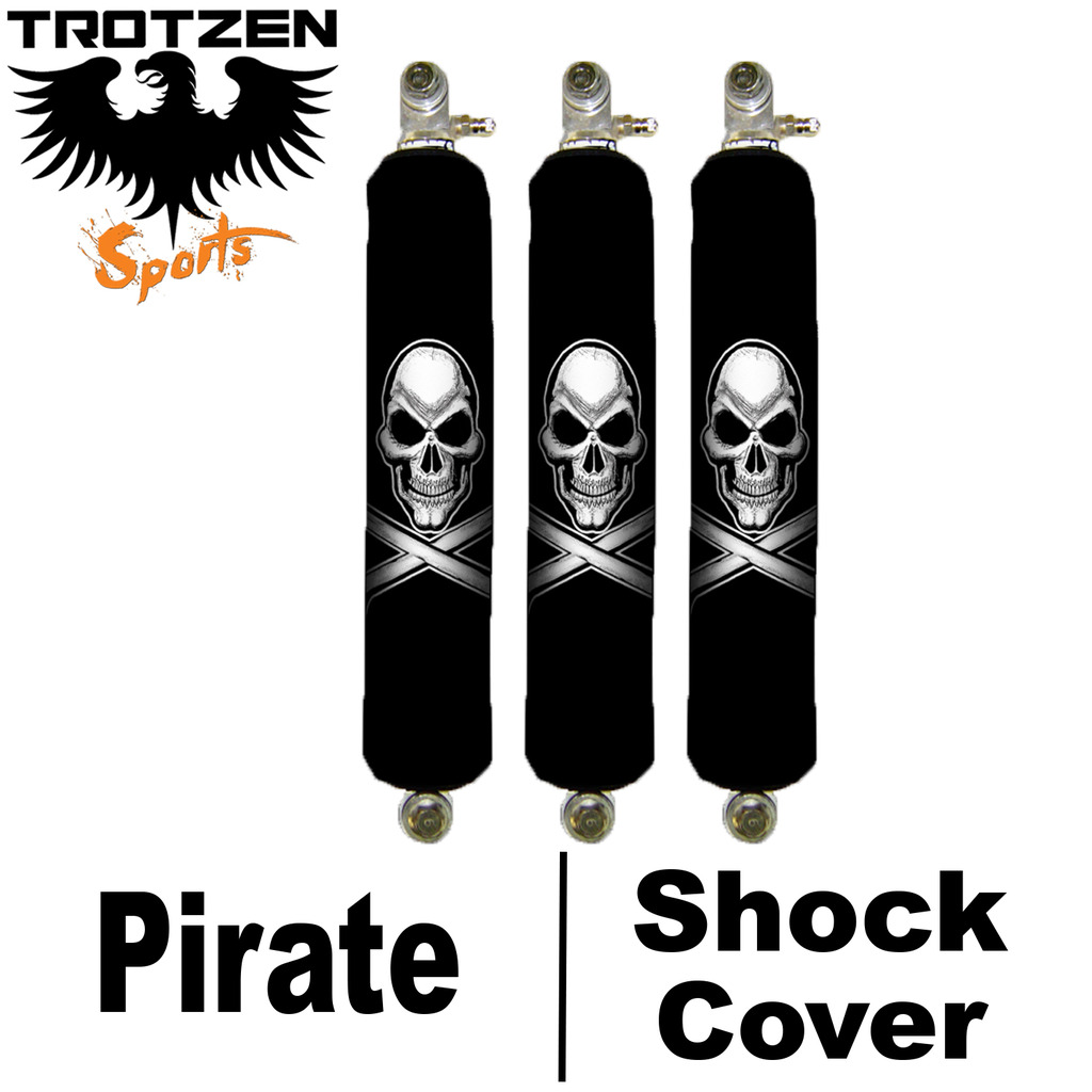 Kawasaki Lakota Pirate Shock Covers