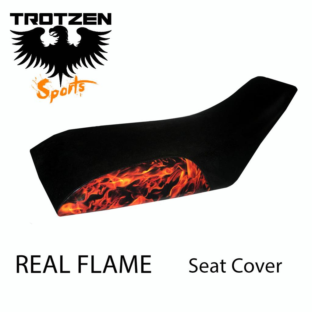 Honda ATC 200ES 84 Real Flame Seat Cover
