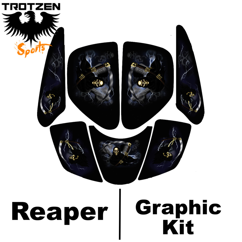 Polaris Predator 90 Reaper Graphic Kits