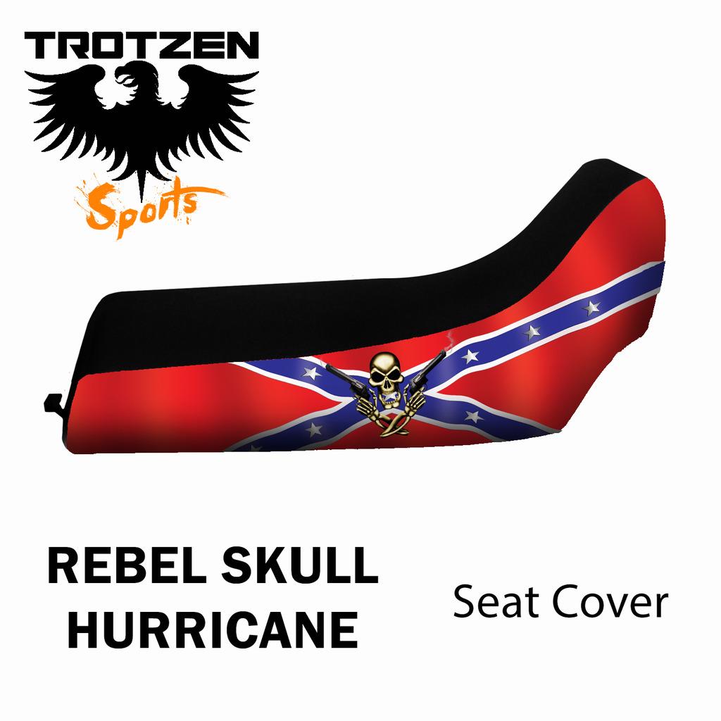 Suzuki Alt 50 (3Wheel) 83-84 Rebel Skull Hurricane Seat Cover