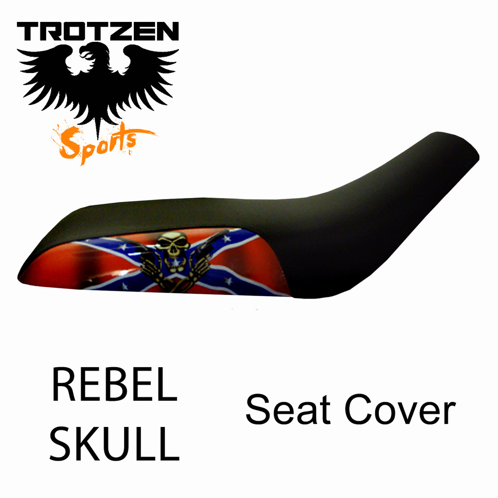 Polaris Predator 90 Rebel Skull Seat Cover
