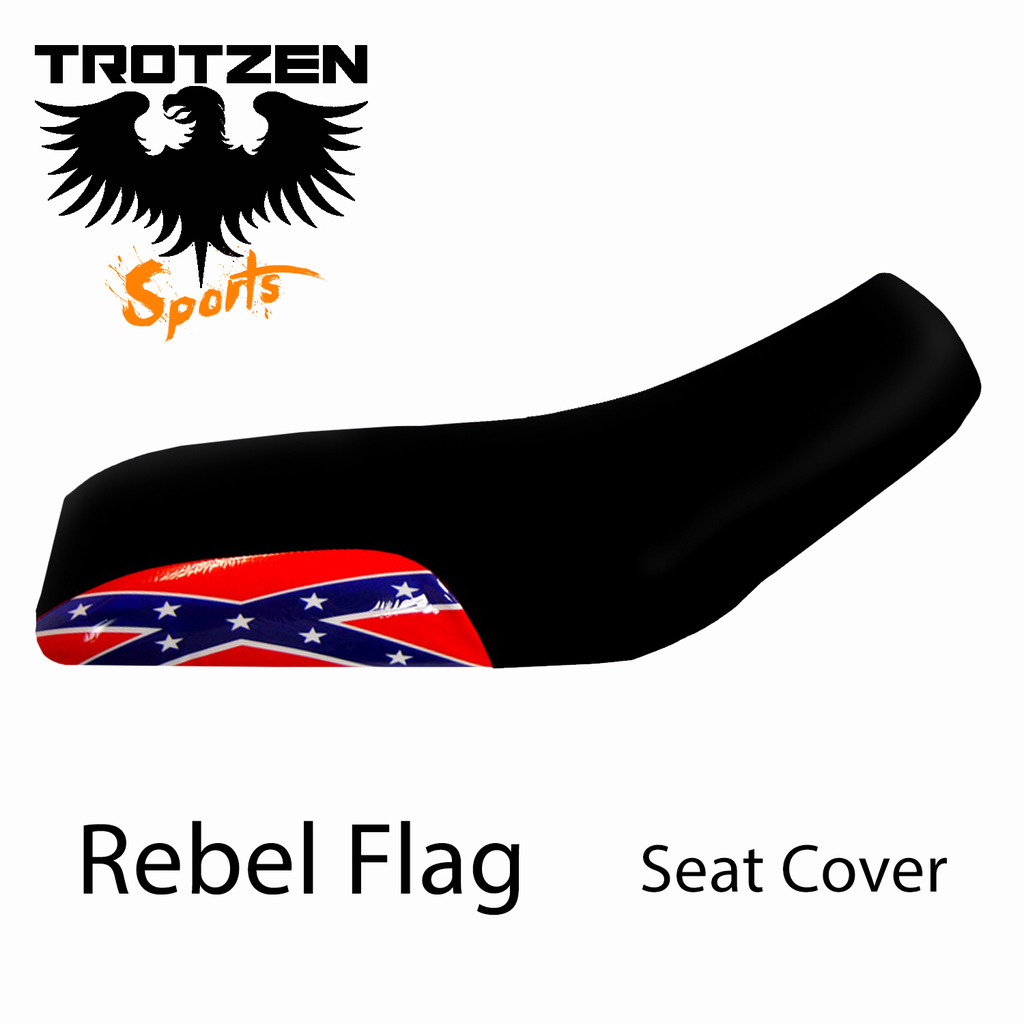 Honda TRX 450R Rebel Flag Seat Cover