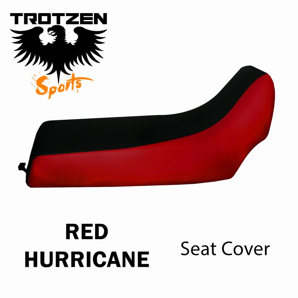 Polaris Predator 90 Red Hurricane Seat Cover