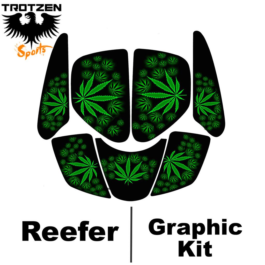 Kasea 50 - 90 - 110 Quad Reefer Graphic Kits