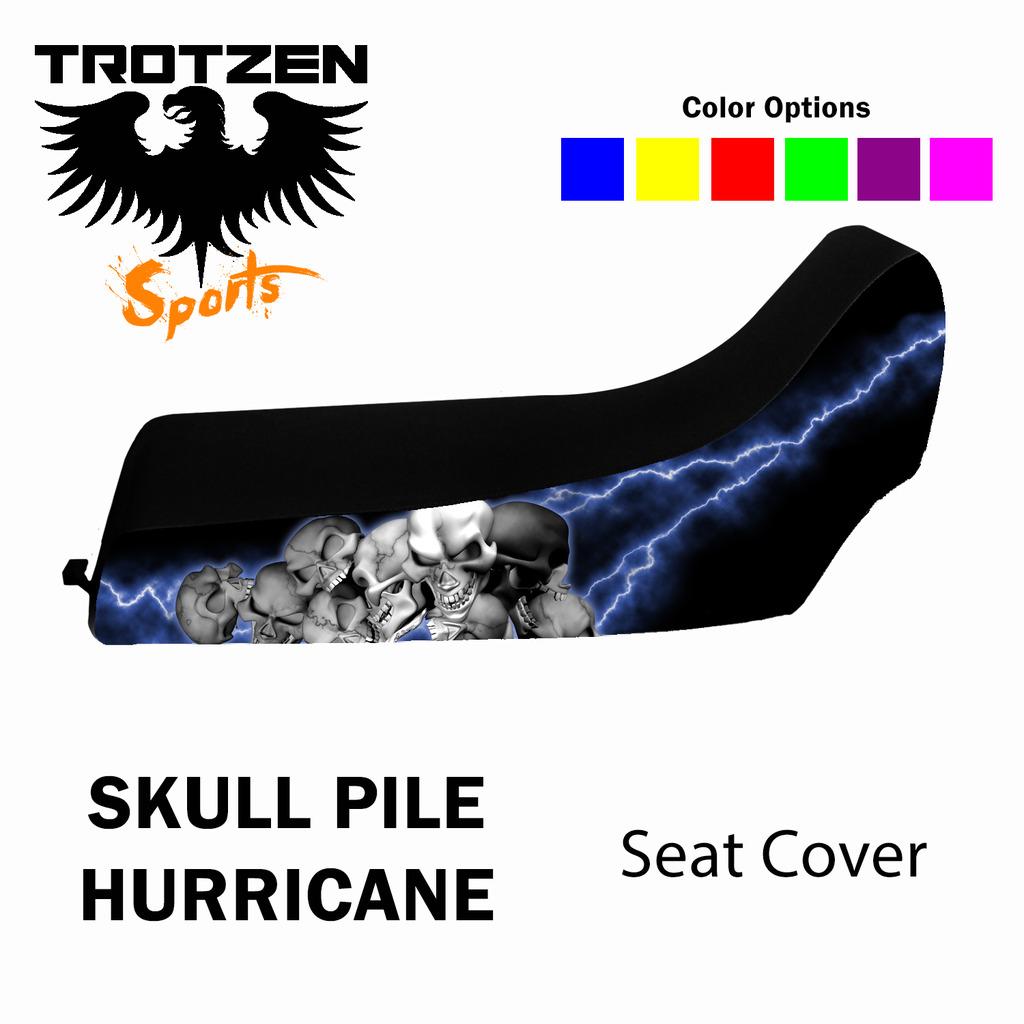Polaris Predator 90 Skull Pile Hurricane Seat Cover