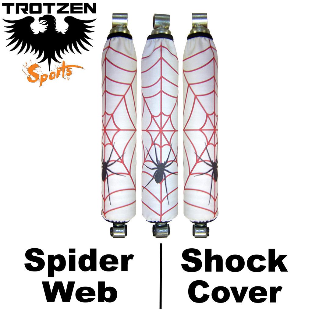 Kawasaki Lakota Spider Web Shock Covers