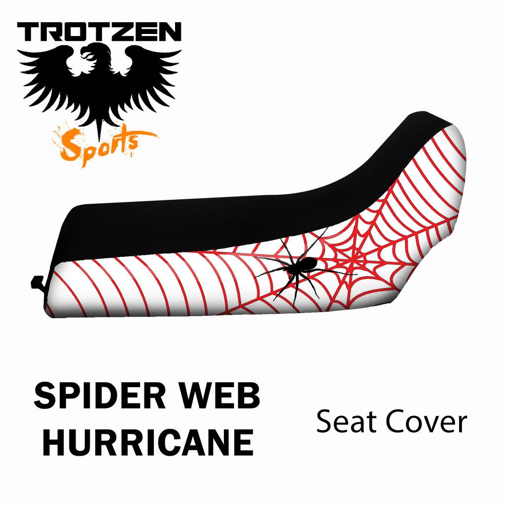 Polaris Scrambler 500 96-03 Spider Web Hurricane Seat Cover