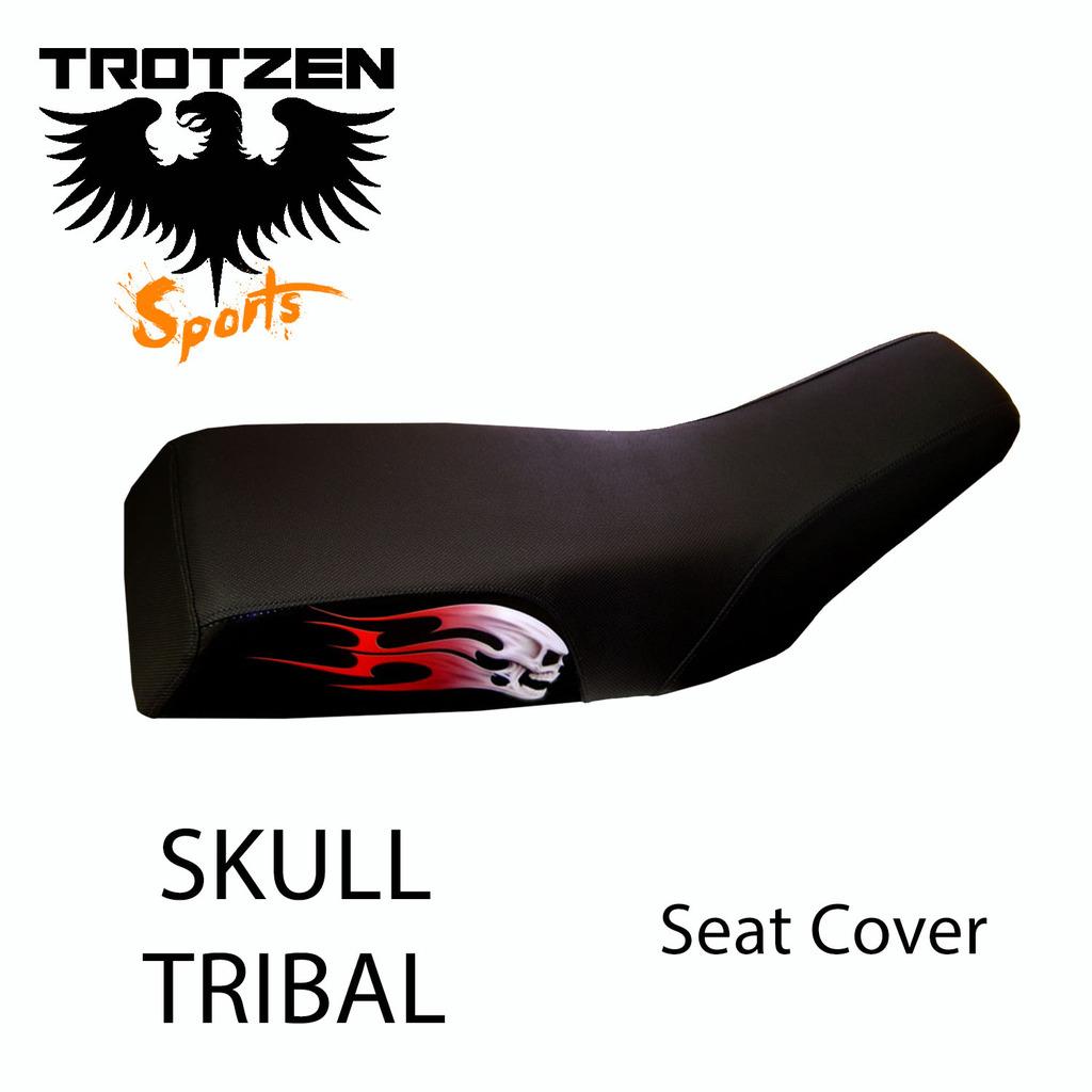 Polaris Cyclone Skull Tribal Seat Cover