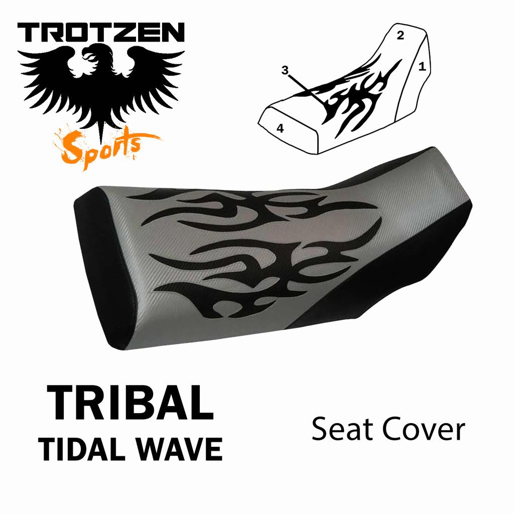 Polaris Predator 90 Tribal Tidal Wave Seat Cover