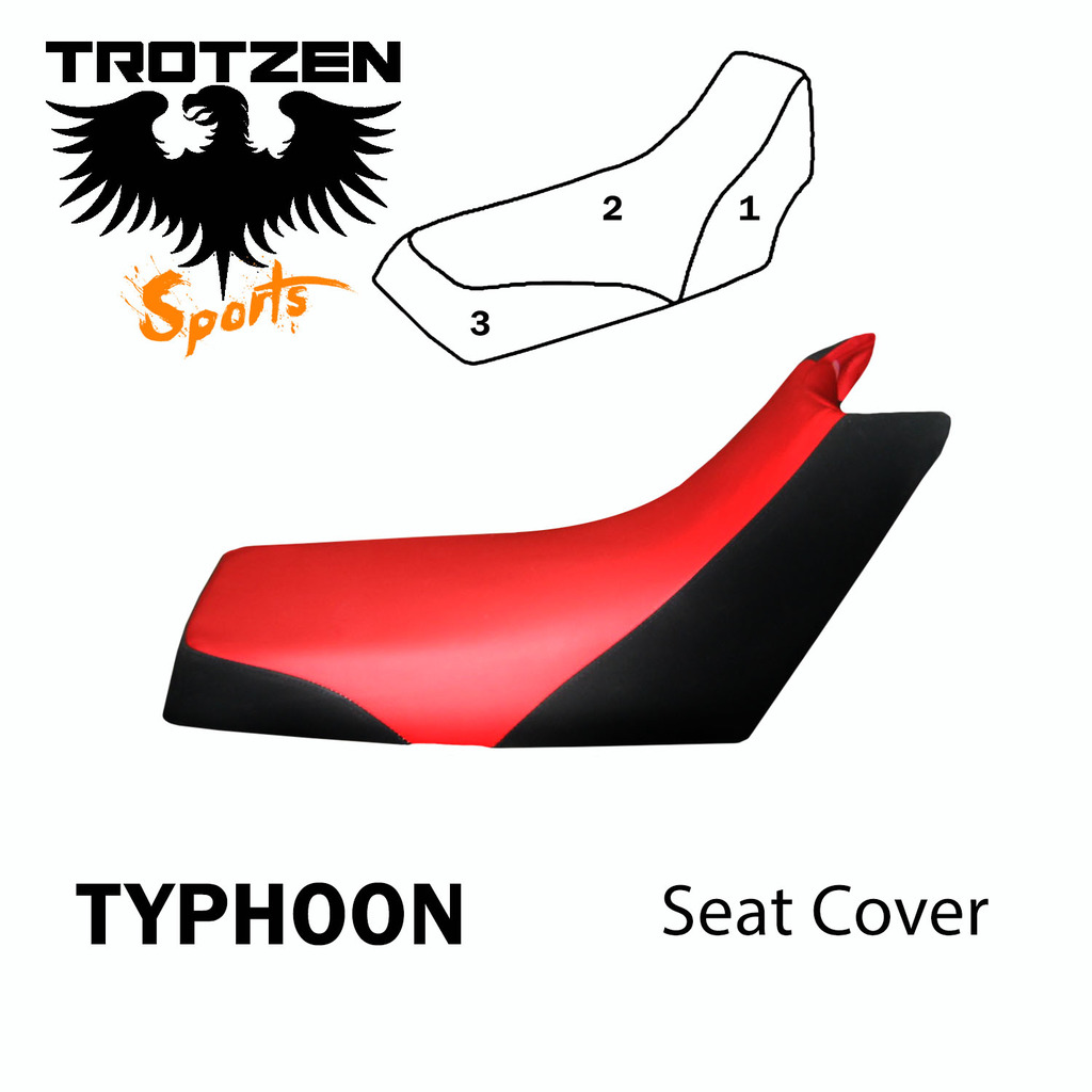 VPS Seat Cover Compatible With Honda TRX300EX 93-04 Bk Top Camo Sides ATV Seat Cover TRX 300EX